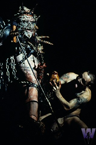 GWAR BG Archives Print from Warfield Theatre on 14 May 94: 16x20 C-Print