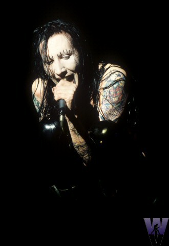 Marilyn Manson BG Archives Print from Warfield Theatre on 24 Mar 95: 16x20 C-Print