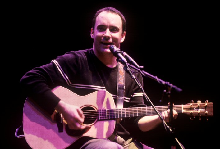 Dave Matthews BG Archives Print from Warfield Theatre on 20 Feb 97: 16x20 C-Print