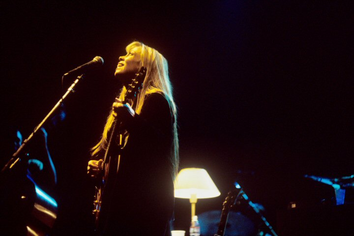 Rickie Lee Jones BG Archives Print from Warfield Theatre on 21 Nov 97: 11x14 C-Print