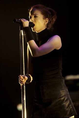 Shirley Manson BG Archives Print from Warfield Theatre on 20 May 98: 16x20 C-Print