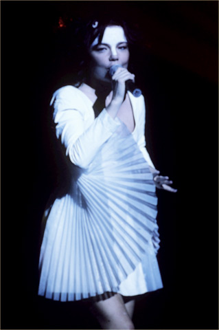 Bjork BG Archives Print from Warfield Theatre on 21 May 98: 11x14 C-Print