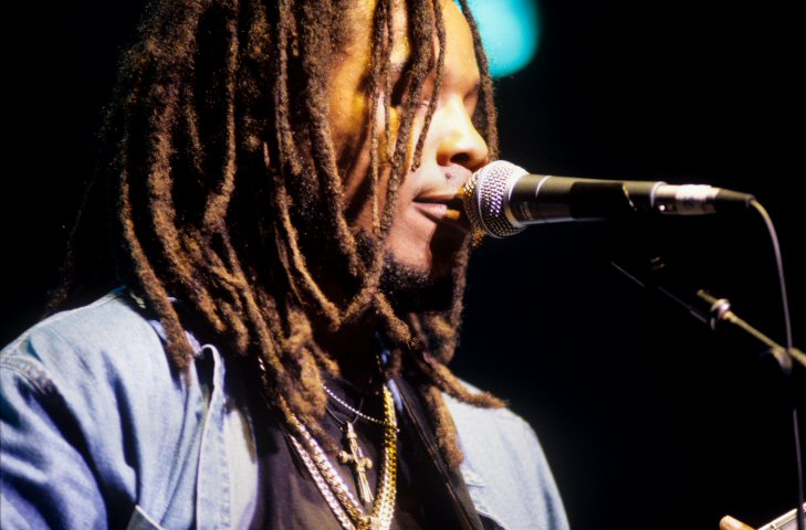 Stephen Marley BG Archives Print from Warfield Theatre on 23 Jul 98: 16x20 C-Print