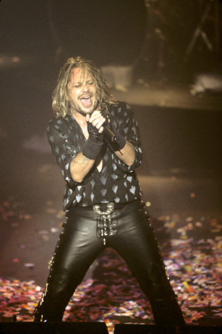 Vince Neil BG Archives Print from Warfield Theatre on 16 Dec 98: 11x14 C-Print