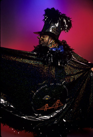 George Clinton BG Archives Print from Warfield Theatre on 26 Mar 99: 11x14 C-Print
