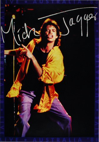 "Mick Jagger Poster  : 27 1/2"" x 39 1/2"""