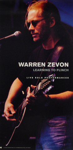 Warren Zevon Poster  : 12&quot; x 24&quot;