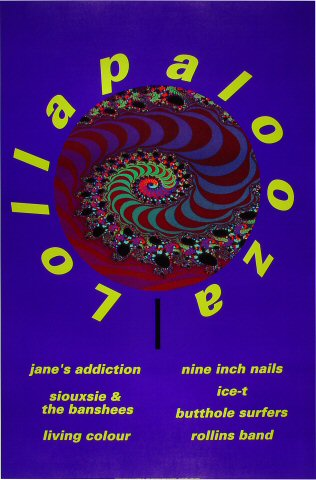 "Jane's Addiction Poster  : 23"" x 34 3/4"""
