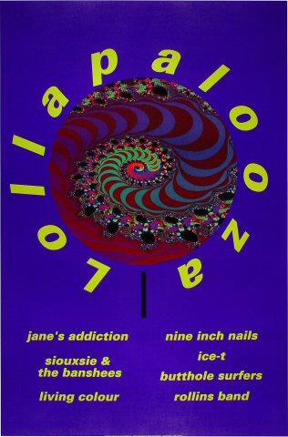 "Jane's Addiction Poster  : 23"" x 34 3/4"""