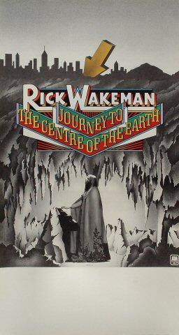 "Rick Wakeman Poster  : 18 1/4"" x 34"""