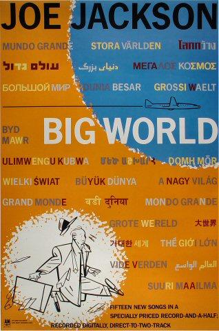 "Joe Jackson Poster  : 24"" x 36"""