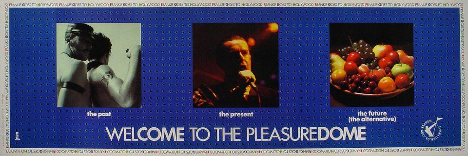 """Frankie Goes to Hollywood Poster  : 12"""" x 36"""""""