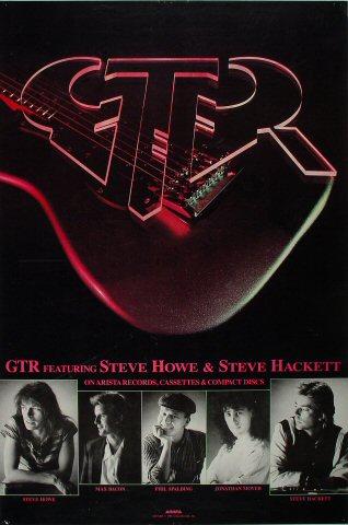 "GTR Poster  : 24"" x 36"""