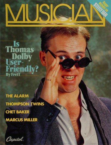 "Thomas Dolby Poster  : 16 1/2"" x 22 1/2"""