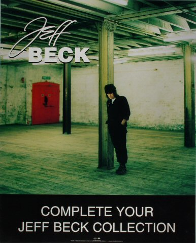 "Jeff Beck Poster  : 24"" x 30"""