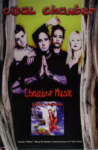 "Coal Chamber Poster  : 24"" x 36"""