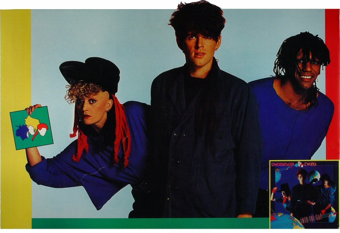 "Thompson Twins Poster  : 21"" x 30 3/4"""