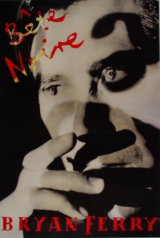 "Bryan Ferry Poster  : 23"" x 34"""