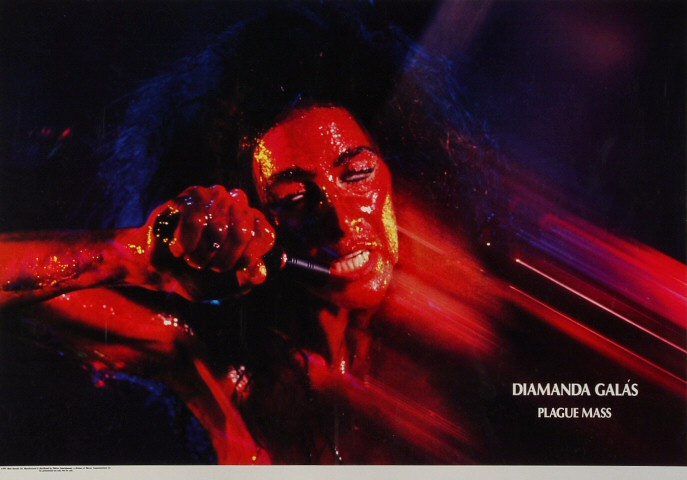 "Diamanda Galas Poster  : 25 3/4"" x 19 7/16"""