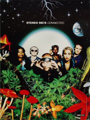 "Stereo MC's Poster  : 18"" x 24"""