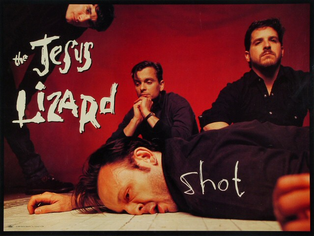 "The Jesus Lizard Poster  : 18"" x 24"""