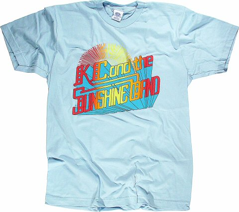 K.C. and the Sunshine Band Women's Retro T-Shirt  : X Large