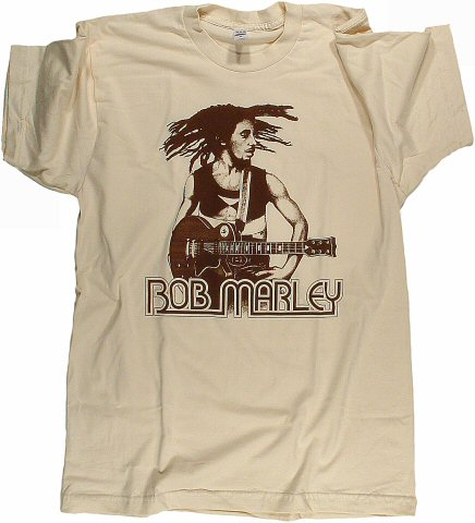 Bob Marley Men's Retro T-Shirt from Paramount Theatre on 29 May 76: Large