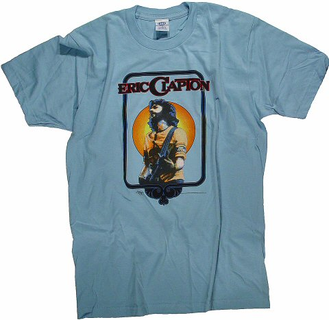 Eric Clapton Men's Retro T-Shirt  : Small