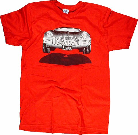 The Cars Men's Retro T-Shirt  : Small