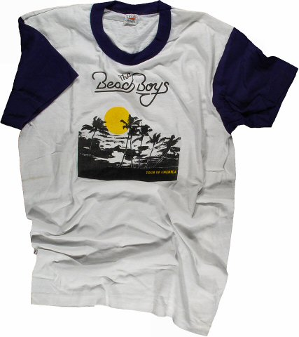 The Beach Boys Men's Retro T-Shirt  : XX Large