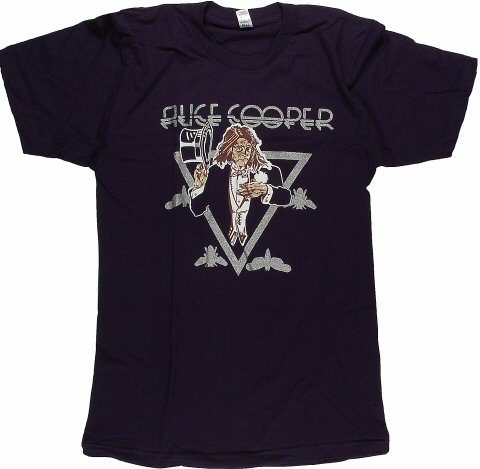 Alice Cooper Men's Retro T-Shirt  : XX Large