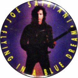 "Joe Satriani Vintage Pin  : 1 1/2"" x 1 1/2"" Pin"