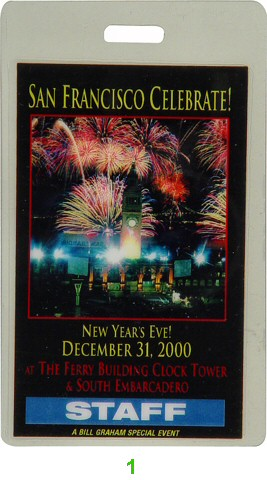 Macy Gray Laminate from City of San Francisco on 31 Dec 00: Laminate 1