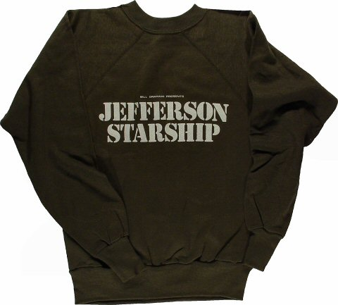 Jefferson Starship Men's Vintage Sweatshirts  : Medium