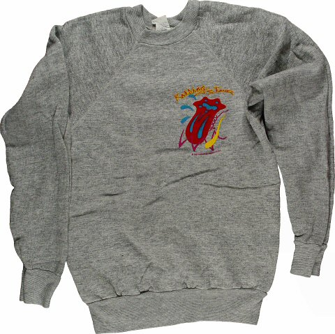 The Rolling Stones Men's Vintage Sweatshirts  : Large