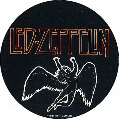 Led Zeppelin Sticker  : Promo Sticker