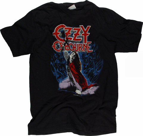 Ozzy Osbourne Men's Retro T-Shirt  : XX Large