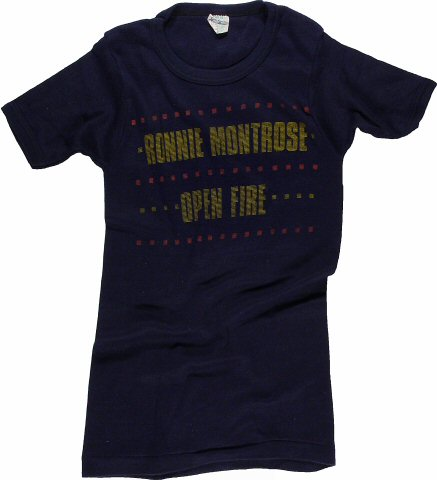 Ronnie Montrose Women's Vintage T-Shirt from San Jose Convention Center on 16 Jul 78: Medium
