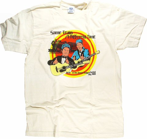 Merle Haggard Men's Retro T-Shirt from Temple Theatre : XX Large