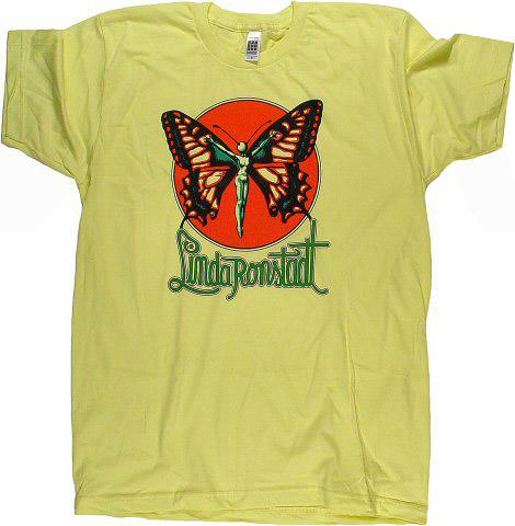 Linda Ronstadt Men's Retro T-Shirt  : XX Large