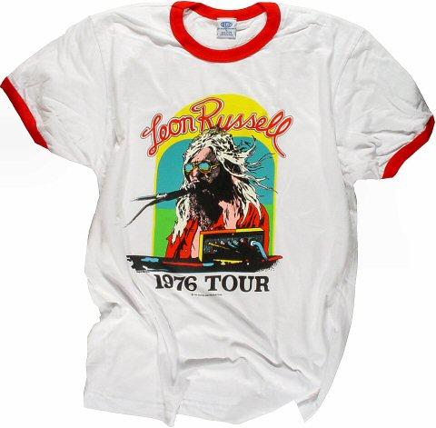 Leon Russell Men's Retro T-Shirt  : XX Large