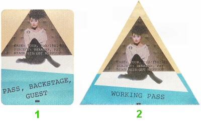 Pat Benatar Backstage Pass  : Pass 1
