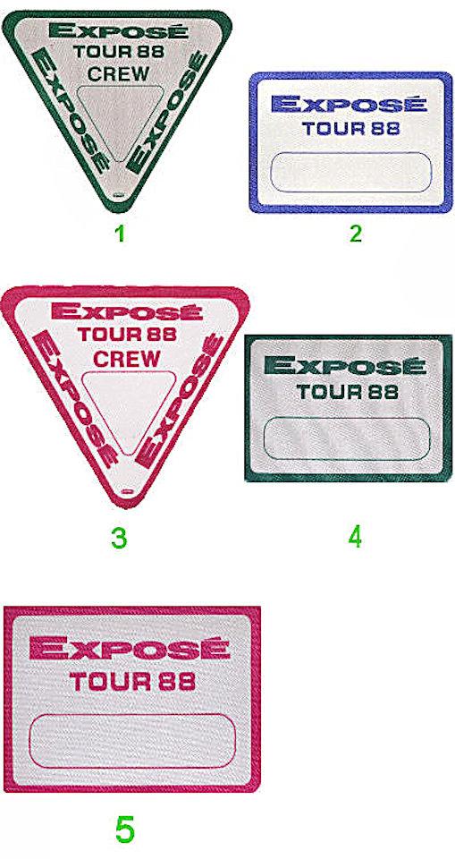Expose Backstage Pass  : Pass 1