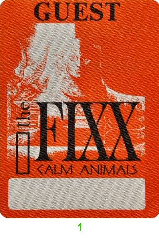 The Fixx Backstage Pass  : Pass 1