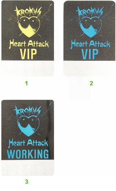 Krokus Backstage Pass  : Pass 2