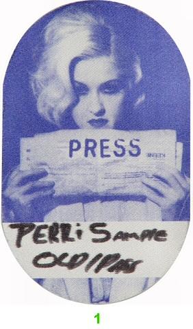Cyndi Lauper Backstage Pass  : Pass 1