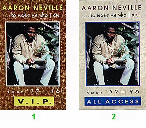 Aaron Neville Laminate  : Laminate 2