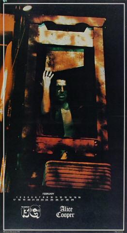 "Alice Cooper Poster  : 12 1/4"" x 22 1/4"""