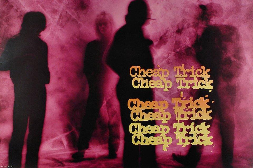 """Cheap Trick Poster  : 24"""" x 36"""""""