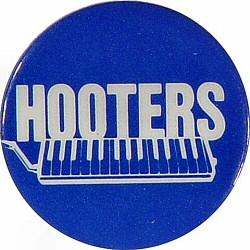 The Hooters Vintage Pin  : Yellow/Black